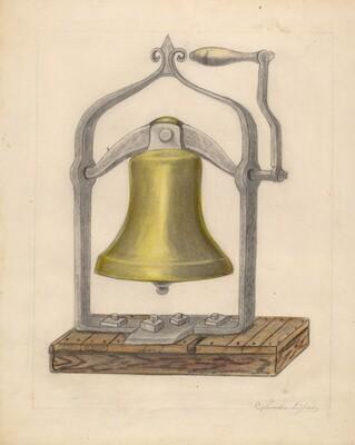 Portable Brass Hand Bell