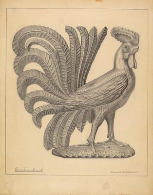 Figurine: Cock