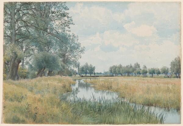 River Landscape near St. Ives, Huntingdonshire