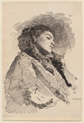 Young Woman Asleep