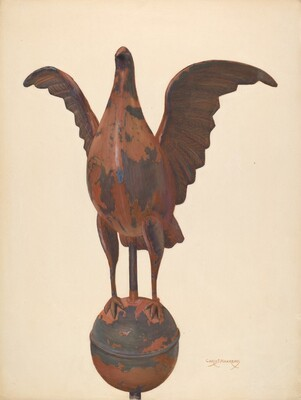 Flag-pole Finial Pigeon