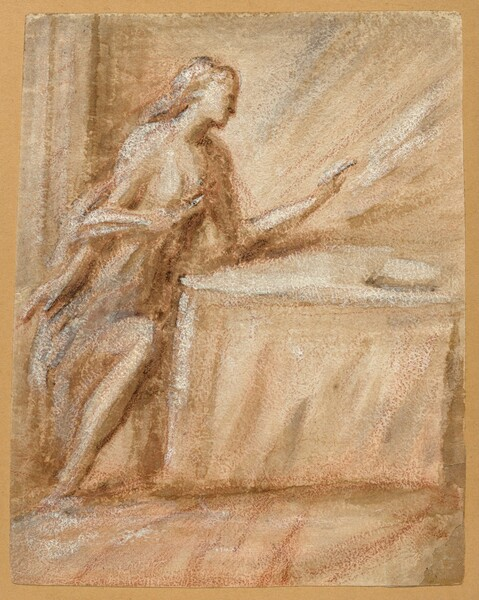 Study of the Virgin for an Annunciation