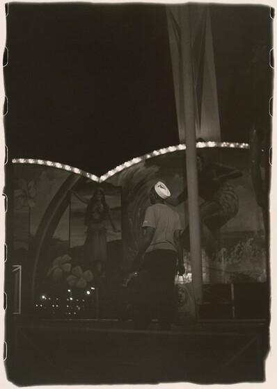 Ming Smith, A Shopper at the Fair, Columbus, Ohio, 1980