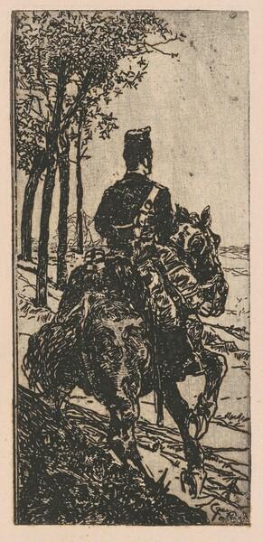 Artillery Soldier on Horseback (Soldato di artiglieria a cavallo)