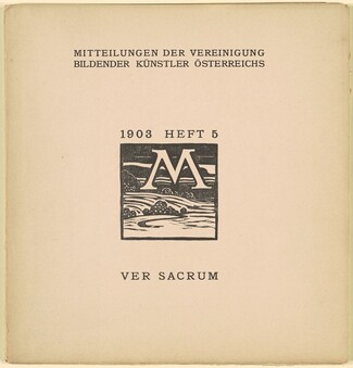 Ver Sacrum [6th year, issue 5, March 1903]
