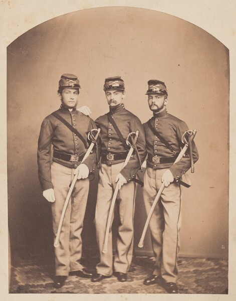 M. Edward Rogers, Robert E. Randall, and Charles F. Lennig, First Troop Philadelphia City Cavalry