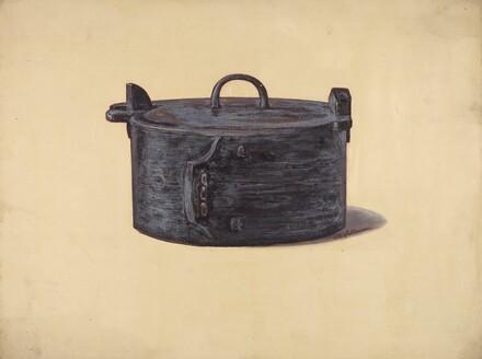 Wooden Work Box