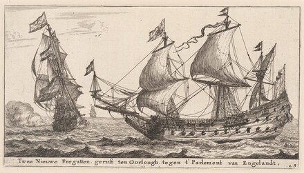 Two Dutch Frigates