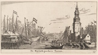 The Haringpakkers Tower in Amsterdam