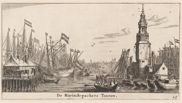 The Haringpakkers Tower in Amsterdam
