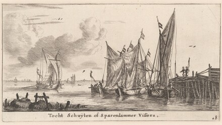 Tocht Schuitenor Spaarndam Fishing Boats