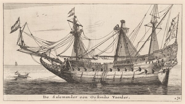 The Salemander, an East-Indian Merchantman
