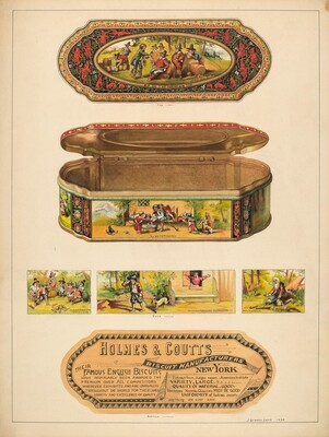 Ginger Box Tin