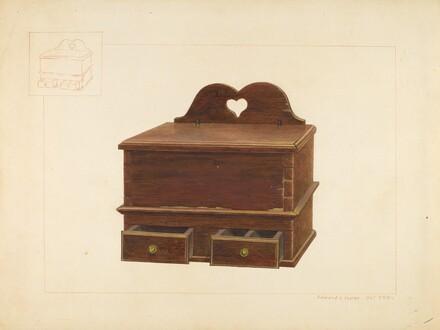 Cabinet Spice Box