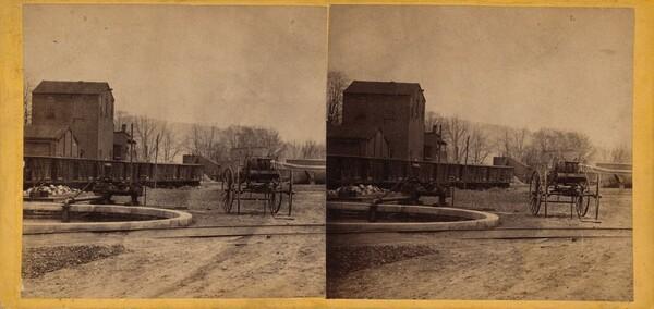 Fire Department & Reservoir, Clark & Sumner, Standard Petroleum Refinery, Pittsburg, Pennsylvania