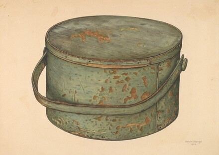 Sugar Pail with Cover