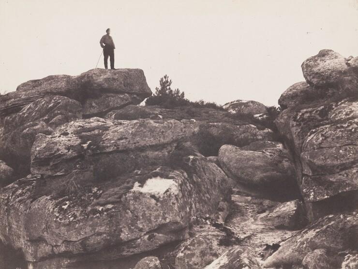 Eugène Cuvelier, Gorges de Franchard - Forêt de Fontainebleau (Franchard Gorges – Fontainebleau Forest), October 20, 1863