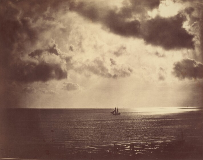 Gustave Le Gray, Brig on the Water, 1856