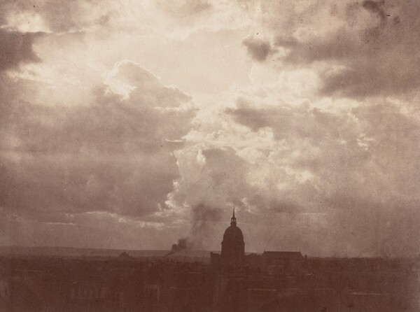 Cloud Study over the Pantheon, Paris
