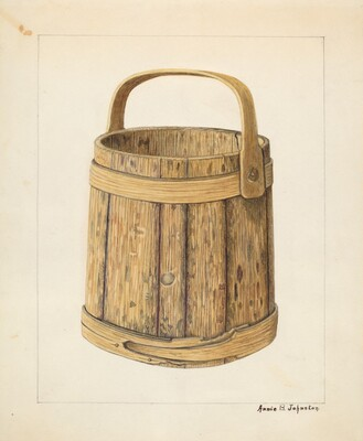 Wooden Sugar Bucket