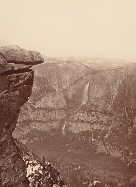 The Yosemite Falls, from Glacier Point