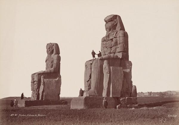 Thèbes, Colosses de Memnon (Thebes, Colossi of Memnon)