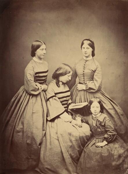 Misses Laura, Emily, Eva, and Edith
