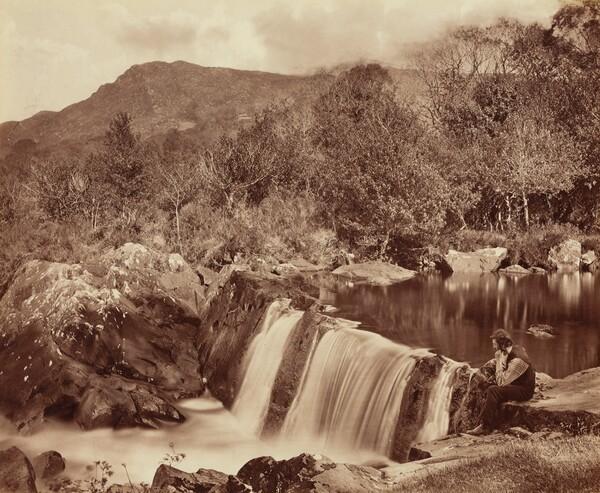 Waterfall, County Wicklow