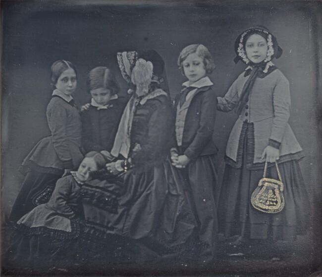 William Edward Kilburn, Queen Victoria and Children, January 19, 1852