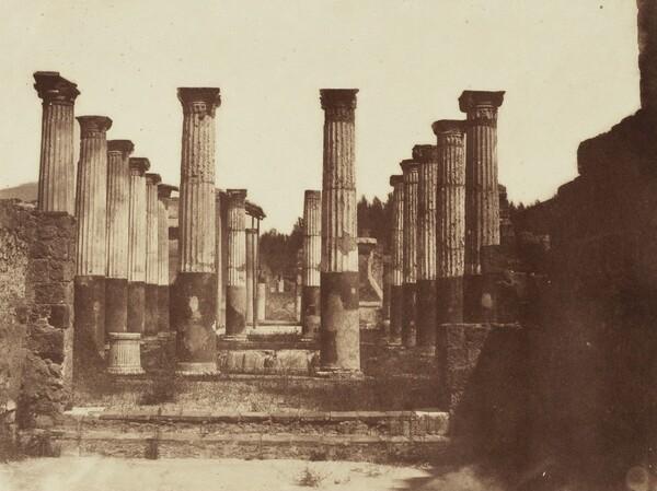 Chapiteaux Colorés, Pompeii (Painted Columns, Pompeii)