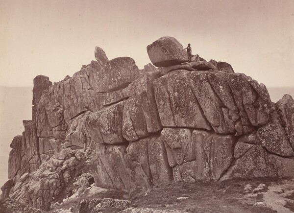The Logan Rock, South Coast of Cornwall