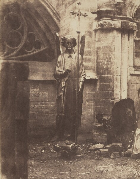 Geoffroy-Dechaume's Angel of the eastern gable of Sainte-Chapelle