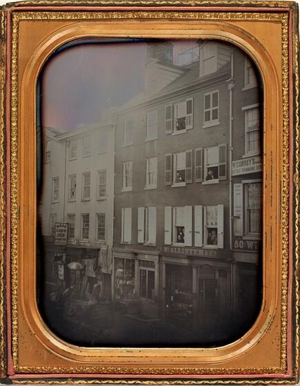 Frederick DeBourg Richards, McAllister's Optical Shop, Philadelphia, December 12, 1854