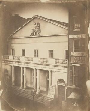 Frederick DeBourg Richards, Arch St. Theatre, Arch at 6th St., Philadelphia, c. 1859