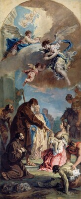 A Miracle of Saint Francis of Paola
