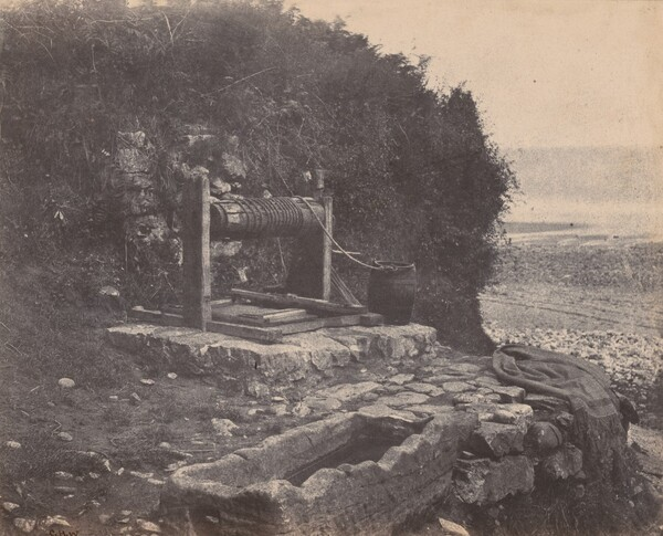 A Well by the Seaside, Langland Bay, Swansea, Wales