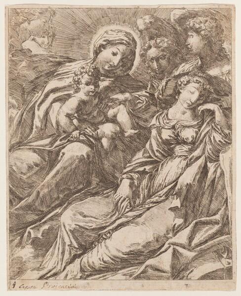 Vision of Saint Catherine of Alexandria