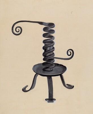Spiral Candlestick