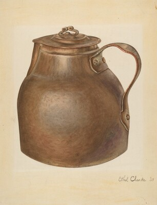 Copper Water Vessel