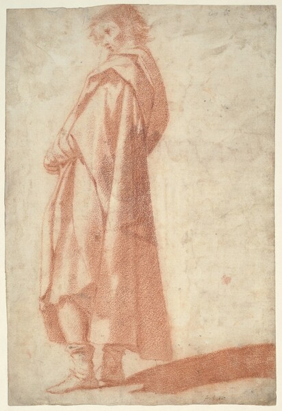 A Standing Male Figure, Facing Left