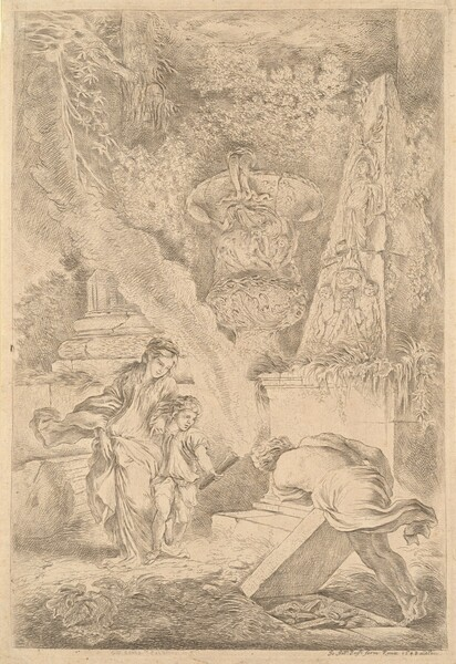 Theseus Finding Aegeus' Arms