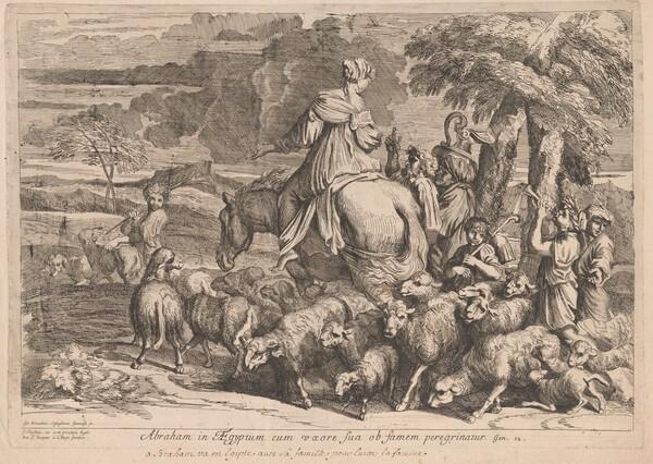 Abraham in Aegyptum (Abraham in Egypt)