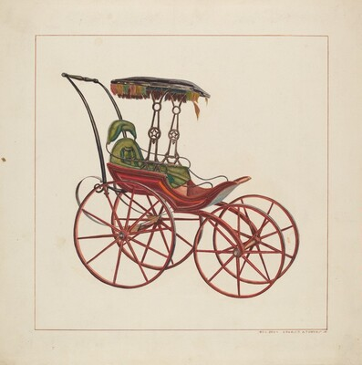 Ernest A. Towers, Jr., Baby Carriage, c. 1927c. 1927