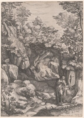 Landscape with a Penitent Magdalene