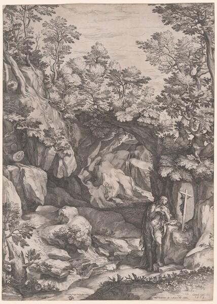 Landscape with a Penitent Magdalene