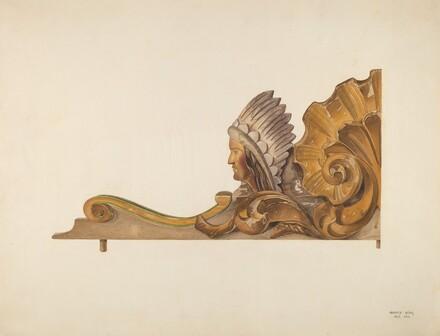 Circus Wagon Decorative Carving