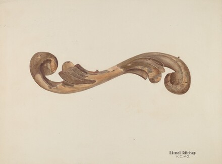 Wood Carving - Scroll
