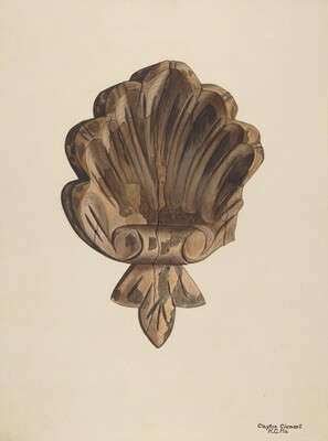Wood Carving - Shell