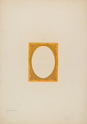 Metal Frame Daguerreotype (Brass)