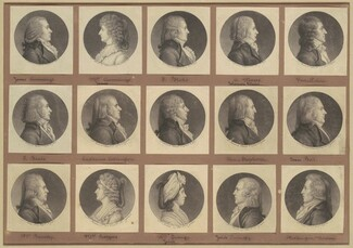 Saint-Mémin Collection of Portraits, Group 3